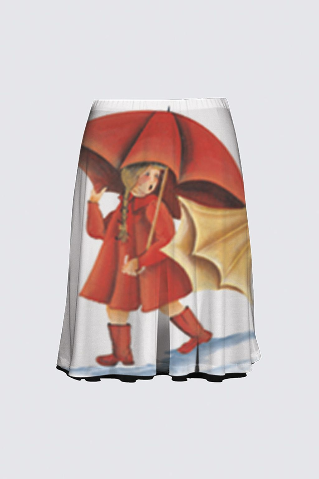 Picture of Slicker Flare Skirt Full Pattern