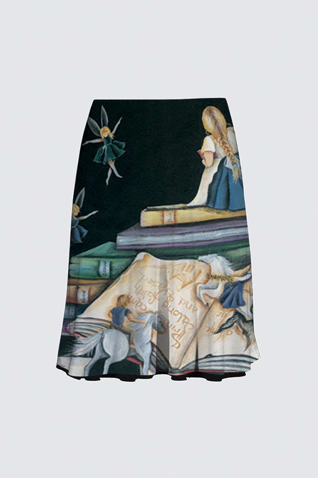 Picture of Her Story Reversible Flare Skirt