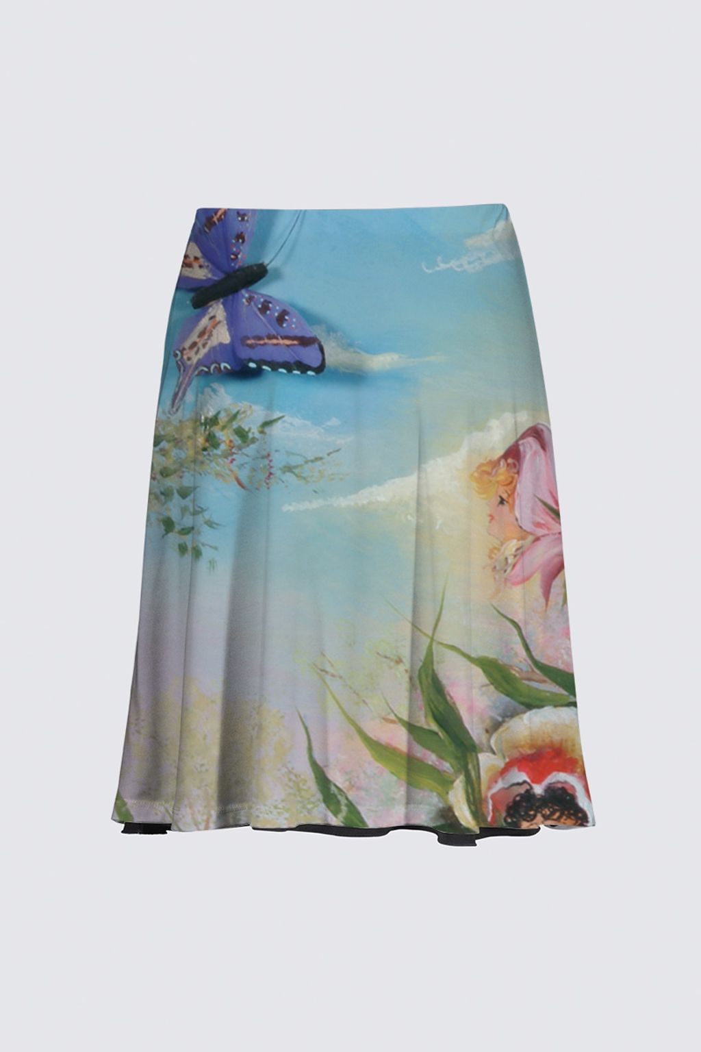 Picture of Butterfly Flies Knee High Skirt