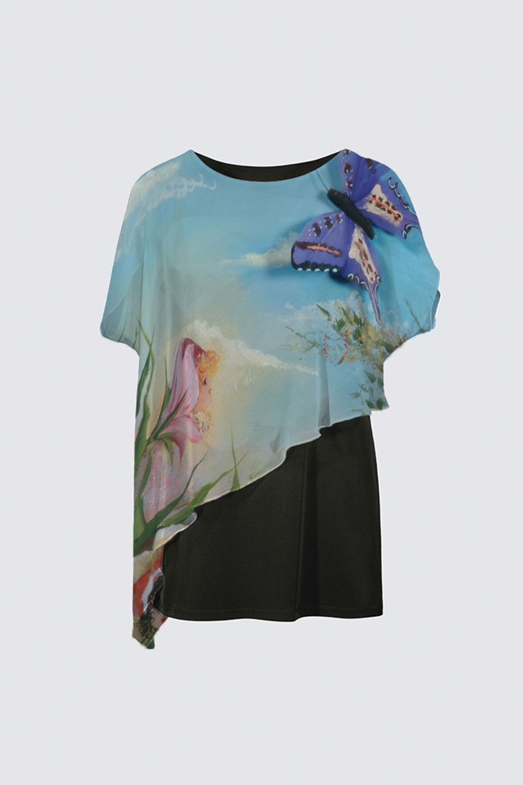Picture of Butterfly Cape Tunic