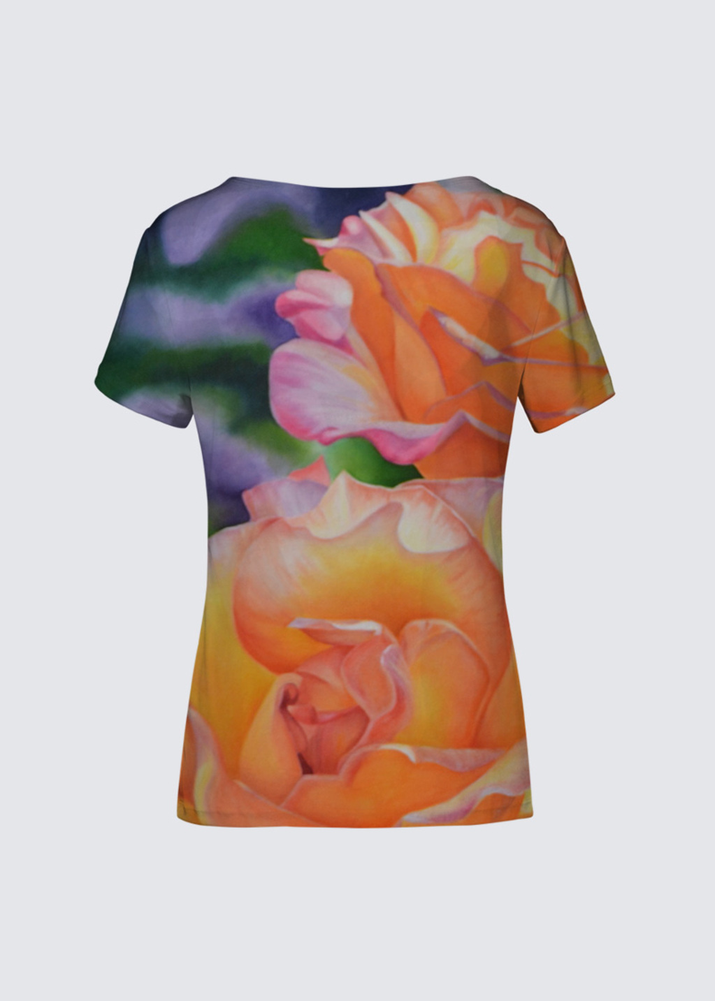 Picture of Raindrops on Roses K Smith Tee