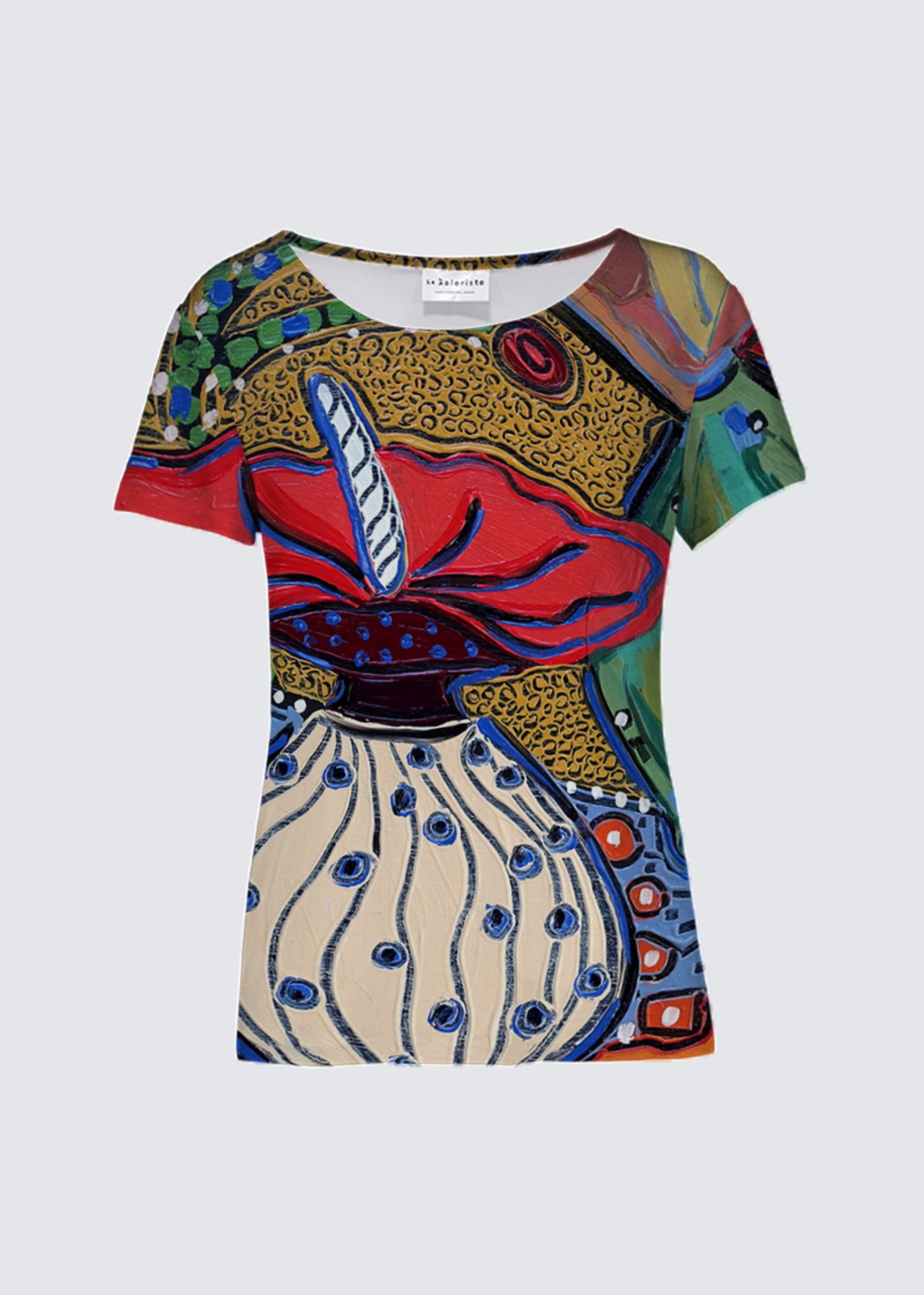 Picture of Vessels in Dreamtime 14 K Smith Tee