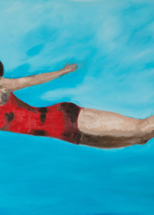 Picture of Diver1 -Ane Howard paintings 01