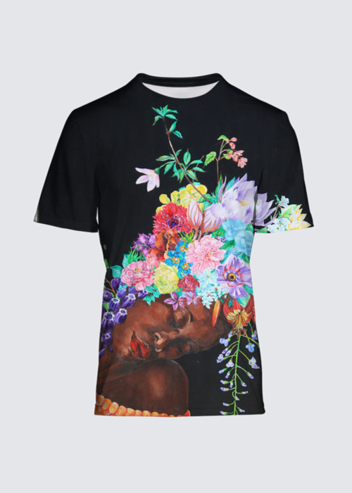 Picture of the language of flowers Salvador Tee