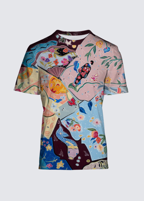 Picture of Lost in the Dream of the Floating World Salvador Tee