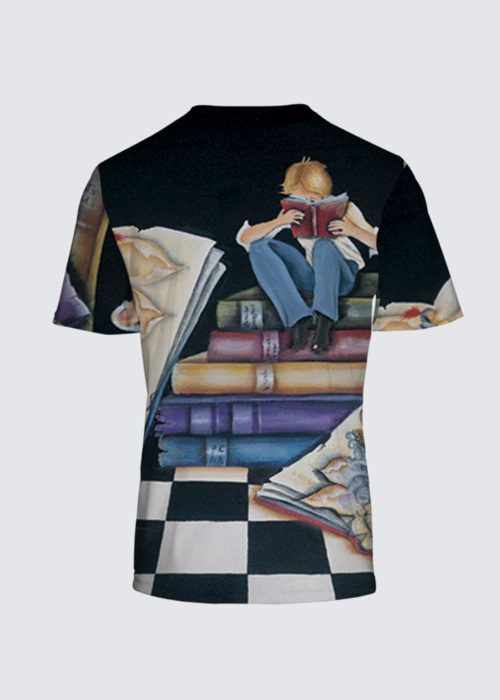 Picture of His Story Rd Neck Tee
