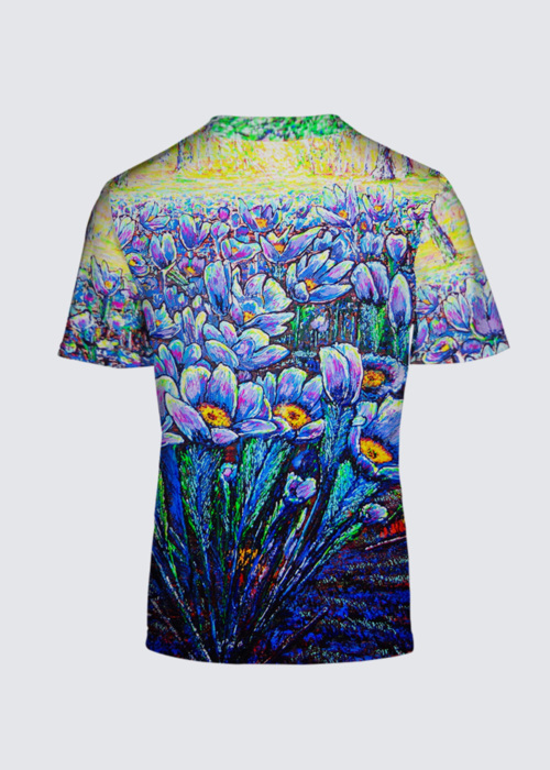 Picture of field flowers Salvador Tee