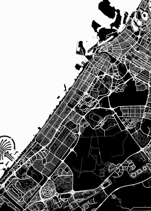 Picture of Dubai Traffic Map