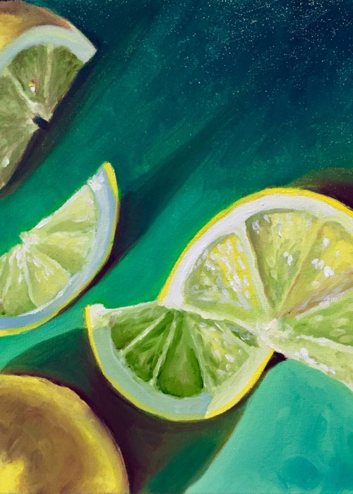 Picture of Lemons in Green