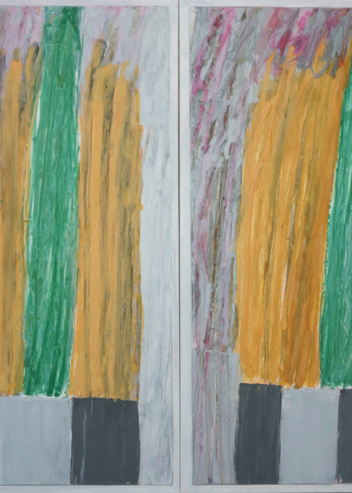 Picture of abstract diptych 1a13