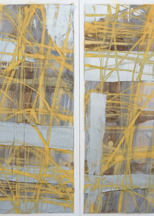 Picture of abstract diptych 1a12