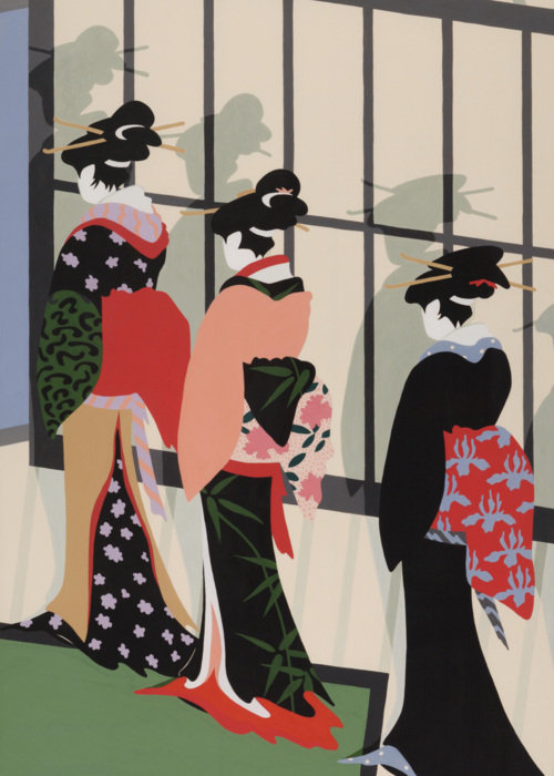 Picture of Four Geishas