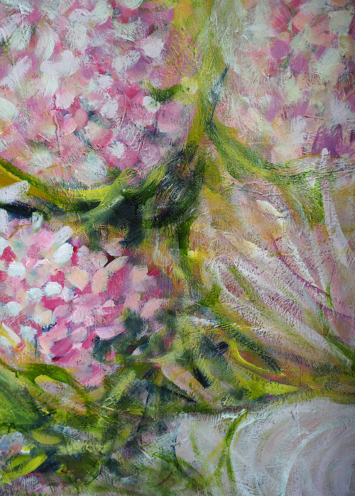 Picture of Pink Hydrangeas