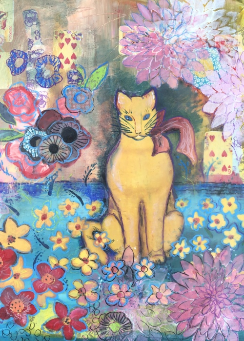 Picture of Yellow Cat