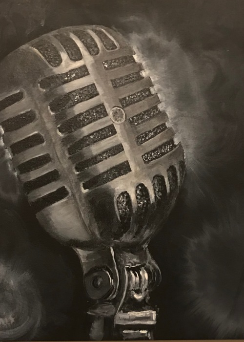 Picture of Vintage Microphone
