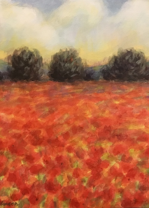 Picture of Field of Poppies 2