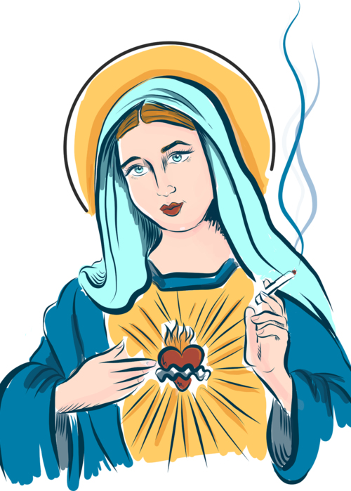 Picture of Smoking Saint