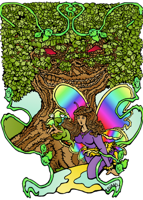 Picture of The Fairy and the Tree of Life