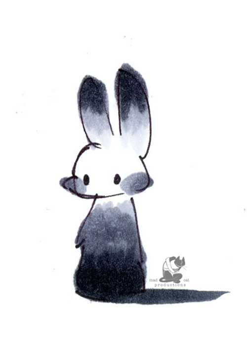 Picture of Copic Bunny