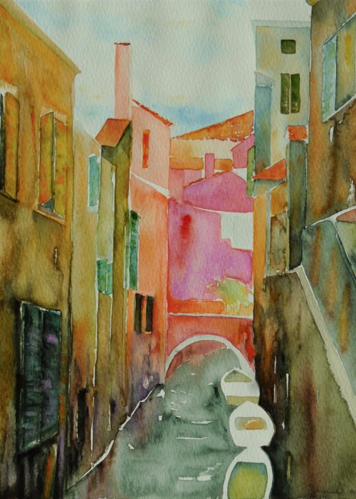 Picture of Venetian Canal