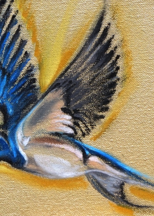 Picture of Sixteen Swallows (fragment 1)
