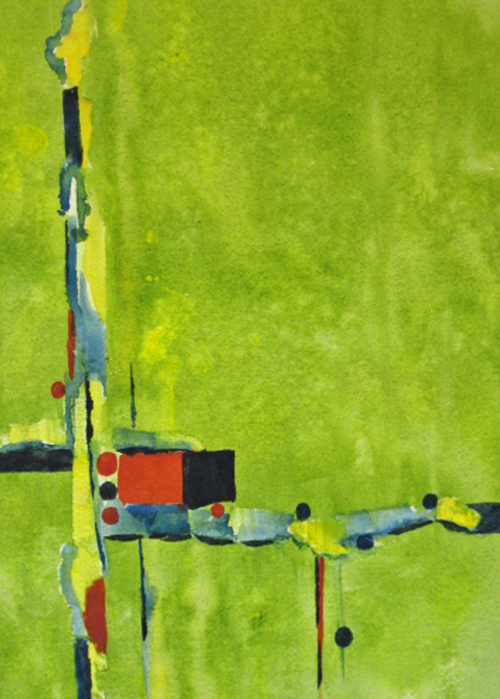 Picture of Abstract in Green