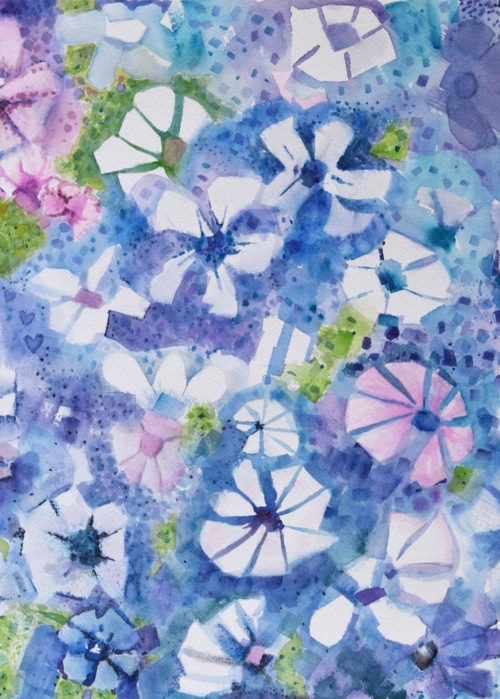 Picture of Blue Pink Floral