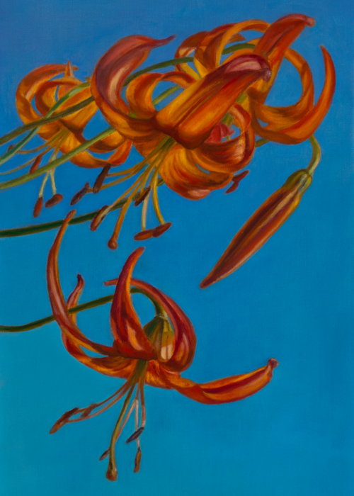 Picture of Dancing Lilies