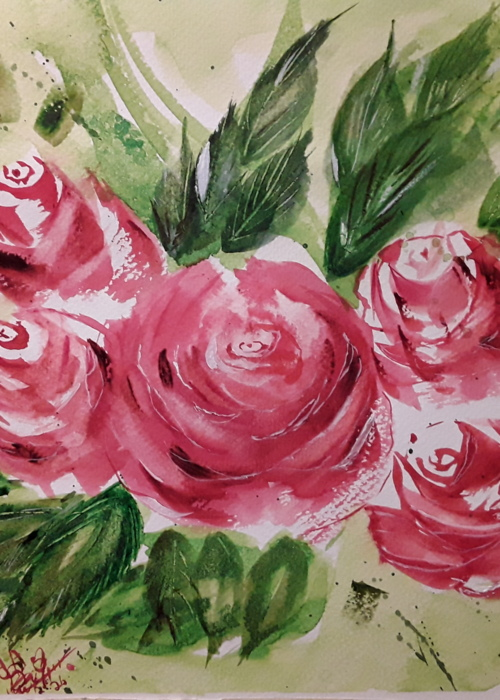 Picture of The roses of love