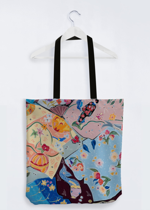 Picture of Lost in the Dream of the Floating World PP Reuben's Tote