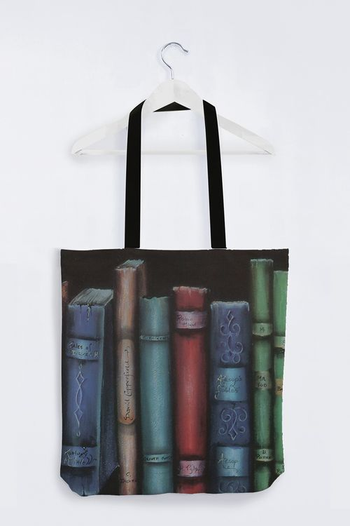 Picture of the Bookends Tote Bag