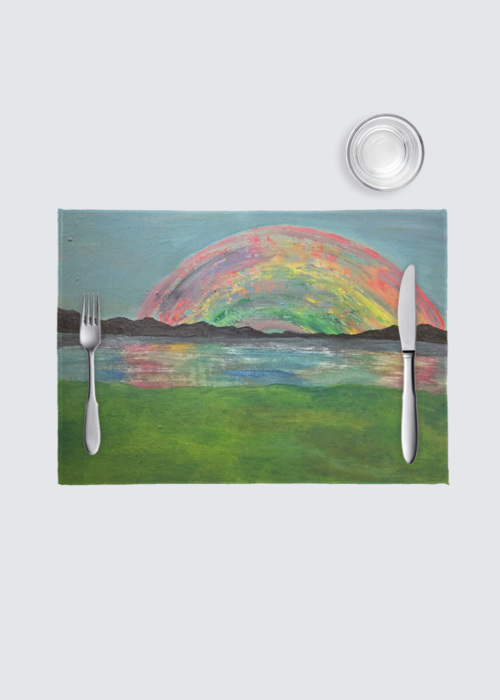 Picture of Rainbow 4 Pack Nino Place Mat