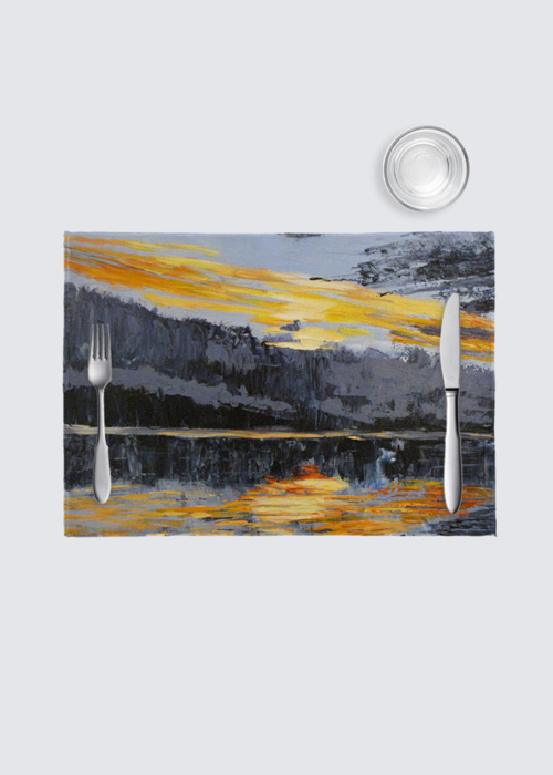 Picture of Canadian Sunset 4-Pack Nino Place Mat