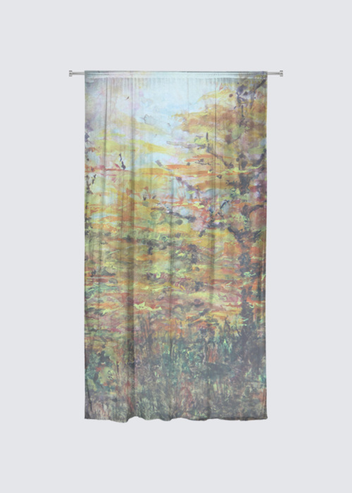 Picture of Autumn Light Show Rideau Flora in Knit Chiffon