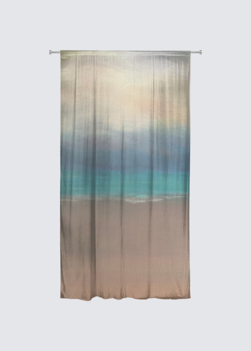 Picture of Carribean Sunset Rideau Flora in Knit Chiffon