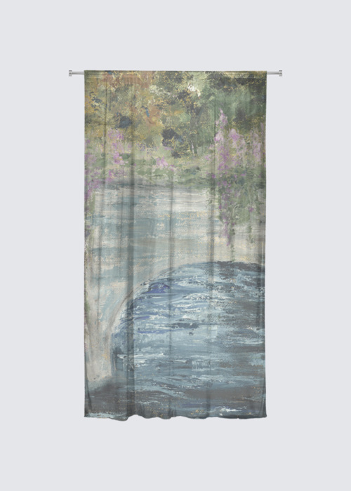 Picture of The River Clyde Rideau Flora in Knit Chiffon