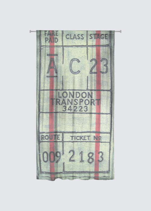 Picture of Ticket Rideau Flora in Knit Chiffon