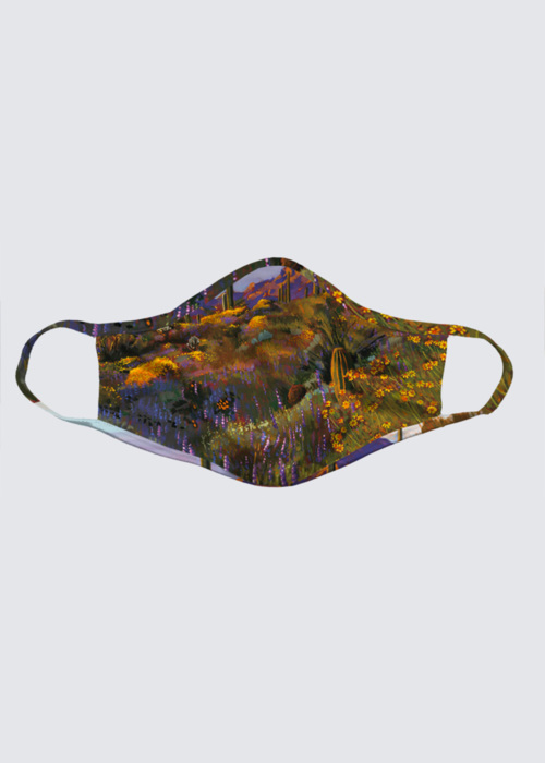 Picture of Desert in Spring Reusable Face Mask (pack of 2)