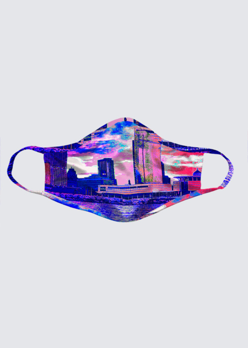 Picture of This Perspective Is Privileged Reusable Face Mask (pack of 2)