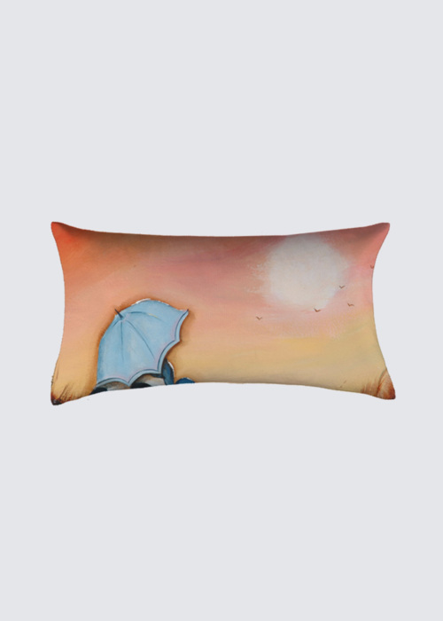 Picture of Silvery Moon Pillow