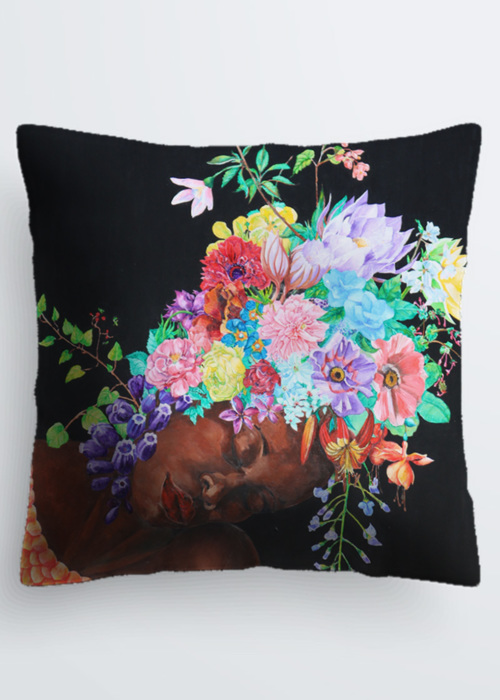 Picture of the language of flowers Pablo Pillow