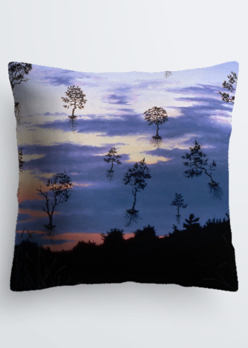 Picture of Leaving Dennis at Dusk Pablo Pillow