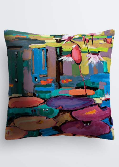 Picture of No Water is Lonely Water 11 Pablo Pillow