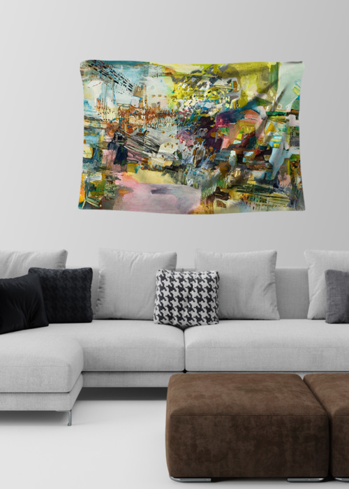 Picture of urban Amelie Small Wall Tapestry