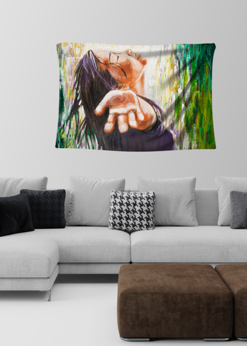 Picture of Faith Amelie Small Wall Tapestry