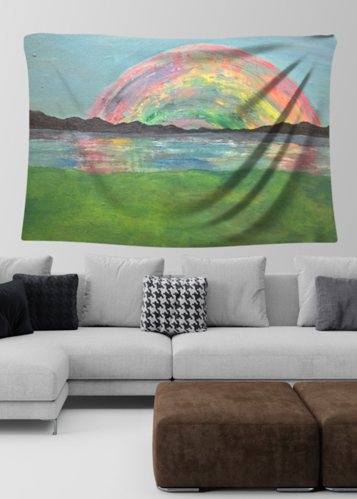 Picture of Rainbow Lydia Large Wall Tapestry