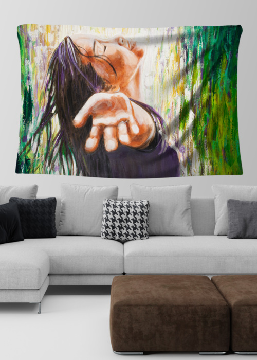 Picture of Faith Lydia Large Wall Tapestry