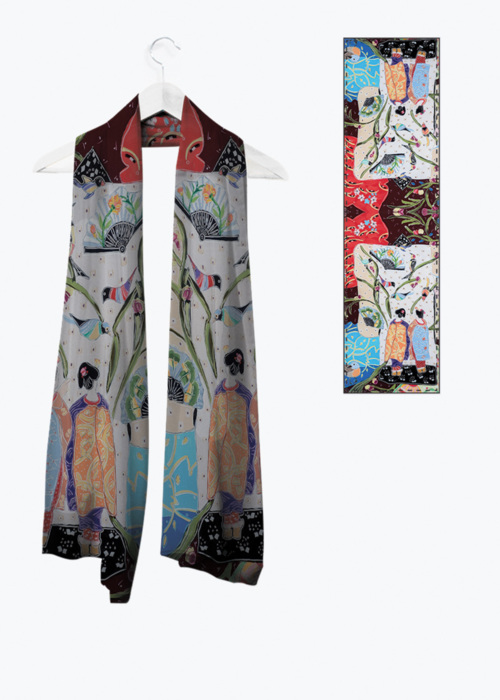 Picture of Entering the Floating World Vivienne Scarf
