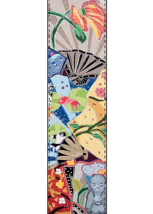 Picture of Little Buddhas Dream of the Floating World Vivienne Scarf