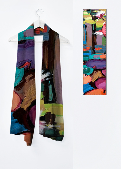 Picture of No Water is Lonely Water 11 Vivienne Scarf